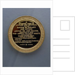 Medal commemorating John Travers Cornwell VC by Spink & Son Ltd