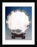 Salver by Alex Clark & Co Ltd