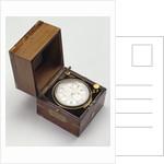 Marine chronometer by Thomas Mercer