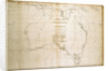 Chart of Terra Australis (Australia) by unknown