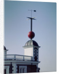 Time ball (in dropped position) at Royal Observatory, Greenwich by National Maritime Museum Photo Studio