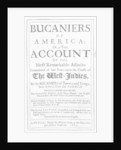 The Bucaniers of America by John Exquemelin