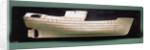 Plating model, starboard broadside by unknown