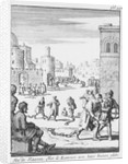A North African slave market by unknown