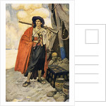 A colourful pirate or buccaneer by Howard Pyle