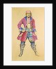 Costume design for the Gilbert & Sullivan comic opera 'Pirates of Penzance' by unknown