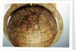 Cartouche in North Pacific Ocean by Dudley Adams
