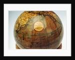 Label in North Pacific Ocean by Adams