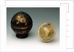 Sphere and case by Jean Fortin
