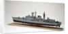 Type 42 destroyer, HMS Sheffield (1971), port stern quarter by John R. Haynes