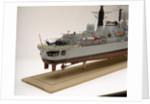 Type 42 destroyer, HMS Sheffield (1971), starboard stern detail by John R. Haynes