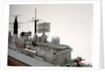 Type 42 destroyer, HMS Sheffield (1971), starboard superstructure detail by John R. Haynes