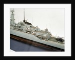 HMS 'Alacrity', port side deck detail by John R. Haynes