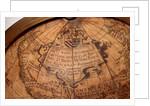 Dedication cartouche in North America by Giuseppe de Rossi