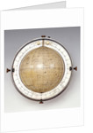 Sphere with horizon and meridian ring by Francis Barker & Son