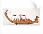 Royal barge, starboard broadside by unknown