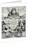 Frontispiece to 'The History of Buccaneers, or Freebooters of America', 1700 by unknown