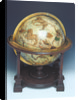 Celestial table globe by Mercator by Gerard Mercator