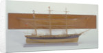 Half block and full hull model of the 'Titania' by unknown