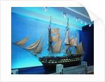 HMS 'Cornwallis' by J. Bomajee