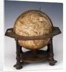 Sphere and stand by Matthaeus Seutter