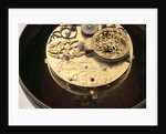 Watch movement and inscription by Johannes Janssonius