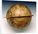Celestial table globe by Gemma Frisius