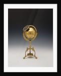 Celestial clockwork globe by Jean Baptiste Cattin