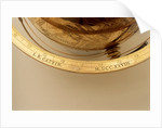 Inscription on meridian ring by Jean Baptiste Cattin