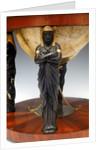 Egyptian caryatids by Hyacinthe Langlois