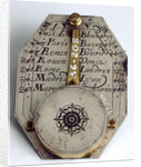 Butterfield dial, reverse by Timothe Collet