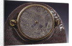 Butterfield dial, detail on reverse by Pierre Sevin