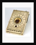 Diptych dial, leaf Ia by Paul Reinmann