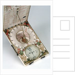 Diptych dial, leaves Ib and IIa by Michael Lesel