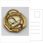Augsburg dial by Nicolas Bion
