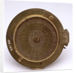 Inclining dial, underside by unknown