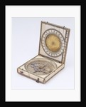 Dieppe magnetic azimuth dial, leaf IIb by Charles Bloud