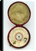 Magnetic dial, with case by Thomas Staight