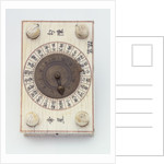 Diptych dial, leaf IIb by unknown