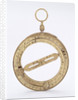 Universal equinoctial ring dial by Michael Butterfield