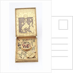 Astronomical compendium, inside of base and back of compass by Christoph Schissler