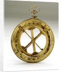 Universal equinoctial ring dial by Nicolas-Eloi Baradelle