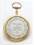 Compass dial, reverse by Hubert Sarton