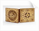 Astronomical compendium, outside of lid and base by Ulrich Klieber