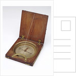 Diptych dial, leaves Ib and IIa by Henry Sutton