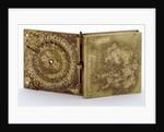 Astronomical compendium, outside face by Cornelio Vinch