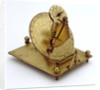 Mechanical equinoctial dial by unknown