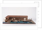 Topographic model, Roman Port of Lepis Magna by Kenneth Britten