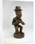 Carving of European sailor, Congo, mid 18th century. by unknown