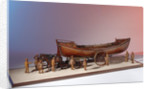 'Mariner's Friend', scenic model with figures, horses and carriage by H. J. Pope